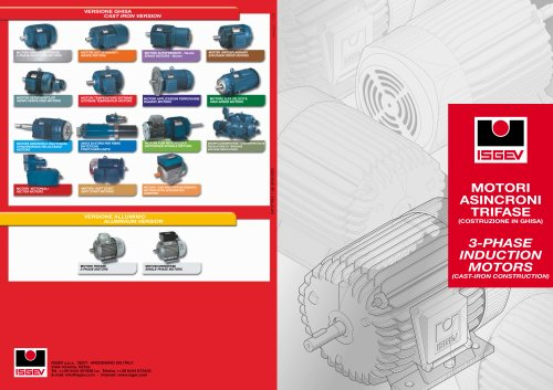 3 Phase induction motor - ISGEV - PDF Catalogs | Technical