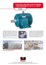 Electric motors for extreme environments -40°C to +120°C - 1
