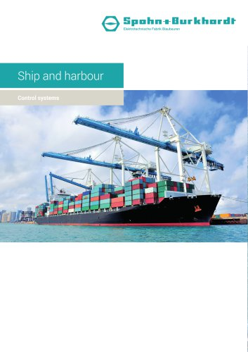 Ship and harbour control systems