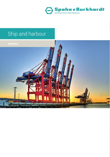 Ship and harbour resistors