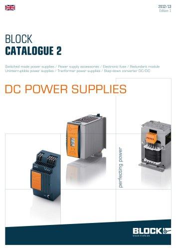 The actual catalogue 2 DC Power supplies