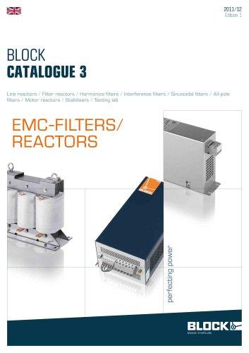 The actual catalogue 3 EMV-Filters/Reactors