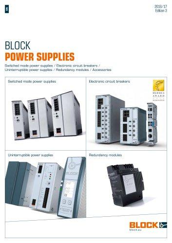 BLOCK POWER SUPPLIES