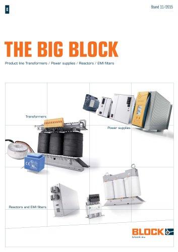 Product line Transformers / Power supplies / Reactors / EMI filters