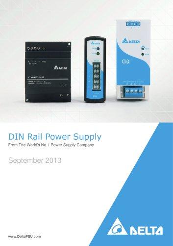 Delta DIN-Rail Power Supplies Rev.Aug.2013