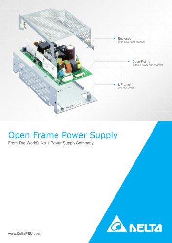 Delta Open Frame Power Supplies Rev.Aug.2013