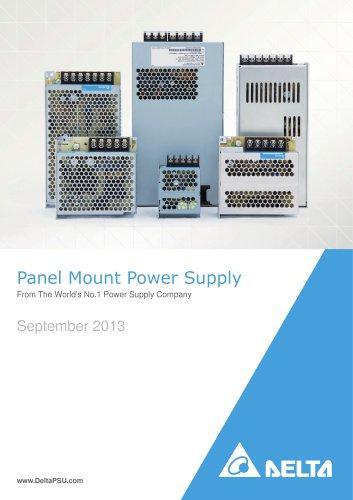 Delta Panel Mount Power Supplies Rev.Aug.2013