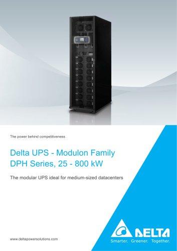 DPH Series, Three Phase, 25 - 800 kVA/kW