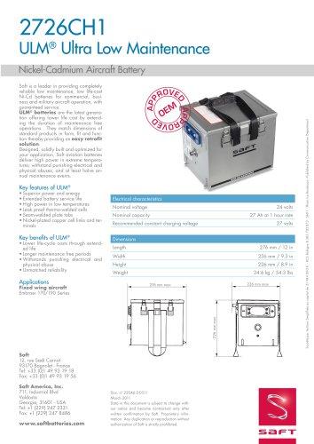 2726CH1 ULM® Ultra Low Maintenance