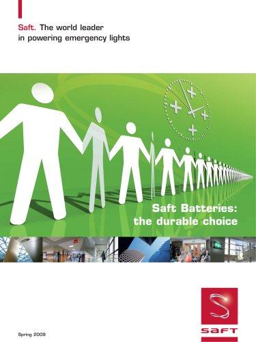 Saft Batteries: the durable choice