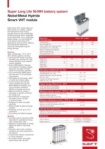 Smart VHT module datasheet