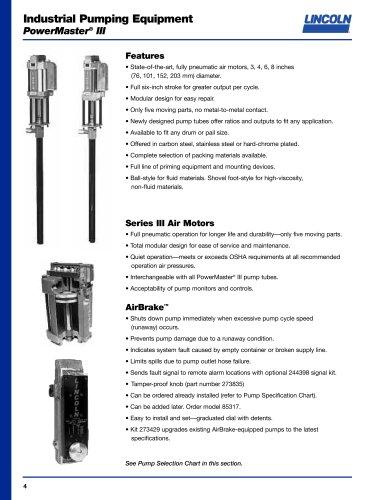 Industrial Pumping Equipment PowerMaster® III