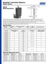 Quicklub® Lubrication Systems Divider Valves