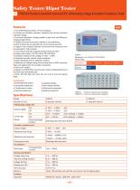 TH9010/A Parallel 8-channel/4-channel AC/DC Withstanding Voltage & Insulation Resistance Tester