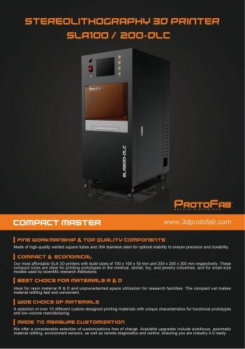 ProtoFab SLA100 200