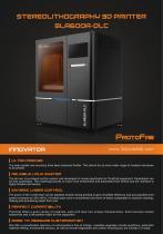 ProtoFab SLA600A DLC - 1