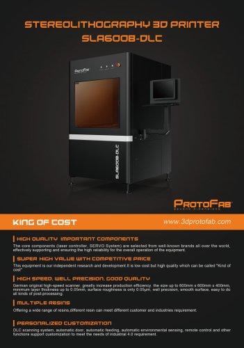 ProtoFab SLA600B