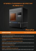 ProtoFab SLA800 - 1