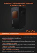 SLA300/SLA450 - STEREOLITHOGRAPHY 3D PRINTER - 1