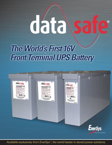 DataSafe HX Front Terminal Flyer