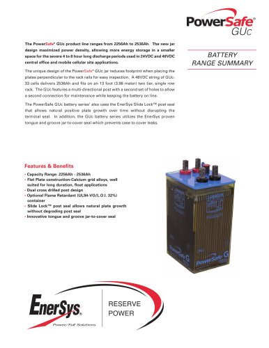PowerSafe® GUc