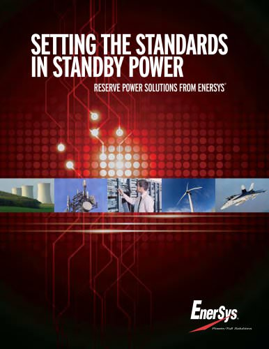 Standby Power Product Overview