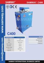 SAMWAY C400  Hydraulic Hose Cutting Machine - 1