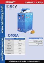 SAMWAY C400A  Hydraulic Hose Cutting Machine - 1
