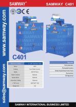 SAMWAY C401  Hydraulic Hose Cutting Machine - 1