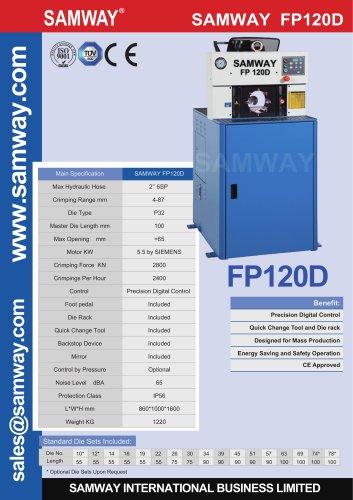 SAMWAY FP120D  Hydraulic Hose  Crimping Machine