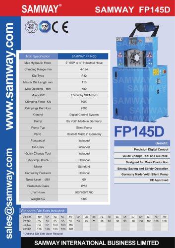 SAMWAY FP145D  Hydraulic Hose  Crimping Machine
