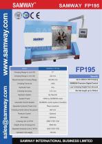 SAMWAY FP195 Industrial  Hose Crimping Machine - 1