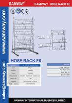 SAMWAY HOSE RACK F6 Hydraulic & Industrial Hose Assembly Accessories Machine - 1