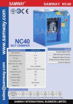 SAMWAY NC40  Hydraulic Hose Crimping Machine - 1