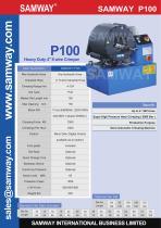 SAMWAY P100  Industrial Hose Crimping Machine - 1