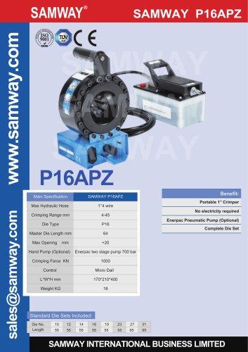 SAMWAY P16APZ  Hydraulic Hose Crimping Machine