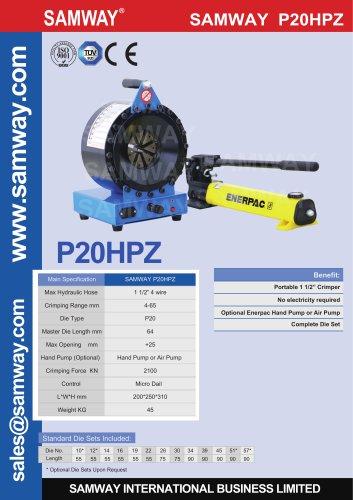 SAMWAY P20HPZ  Hydraulic Hose Crimping Machine