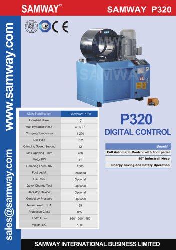 SAMWAY P320 Hydraulic Hose Crimping Machine
