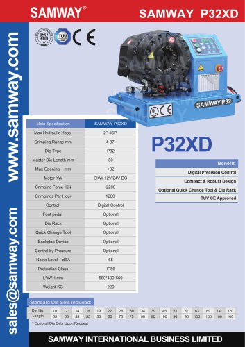 SAMWAY P32XD 12/24V DC For Mobile Van or Truck