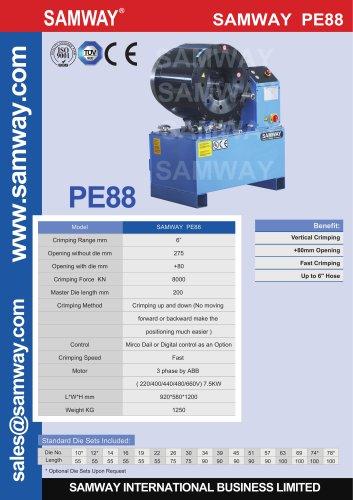 SAMWAY PE88 Hose Crimping Machine