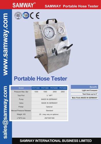 SAMWAY PHT1000  Hydraulic Hose Testing Bench