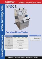 SAMWAY PHT2000  Hydraulic Hose Testing Bench - 1