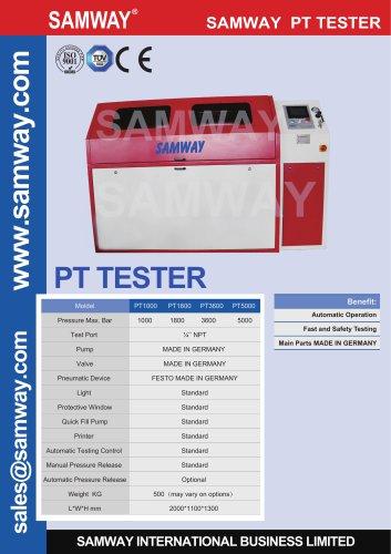 SAMWAY PT5000  Hydraulic Hose Testing Bench