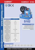 SAMWAY S102  Hydraulic Hose Crimping Machine - 1