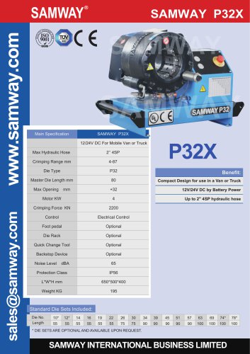 SAMWAY SAMWAY P32X  12/24V DC For Mobile Van or Truck