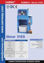 SAMWAY Skiver 51ES  Hydraulic Hose Skiving Machine - 1
