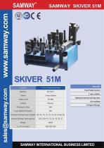 SAMWAY Skiver 51M  Hydraulic Hose Skiving Machine - 1
