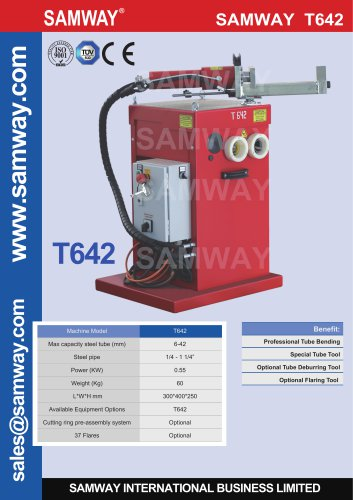 SAMWAY T642 Tube Bending Machine