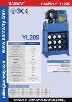SAMWAY YL20S Workshop Crimper - 1