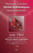 Hydraulic Cylinders SERIE VBM